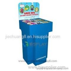 POP Up Printed Cardboard Book Display Stand