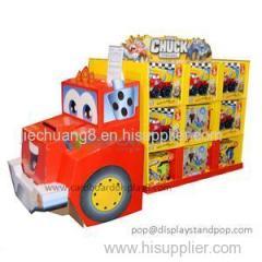 High Quality Customized Luxury Models Cardboard Toy Display Rack