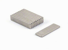 60mm N45 Nickel plated neodymium Block magnet