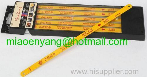 High speed steel bimetal hacksaw blade
