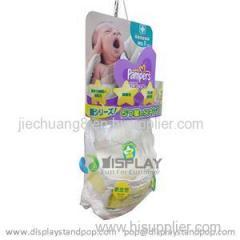Facotry Price Supermarket Diapers Sidekick Cardboard Displays