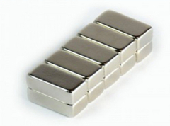 N35 Zinc plated big neodymium Block magnets