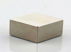 60mm Nickel plated neodymium Block magnet