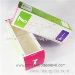 Gray Cardboard Paper Watch Box With Four Color Printing
