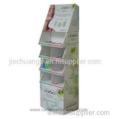Custom Corrugated Recyclable Cardboard Paper Advertising Display