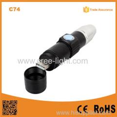 C74 Professional USB charger uv lamp money detector blacklight