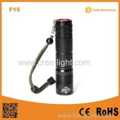 F15 Aluminum Emergency Led Flashlight XML T6 LED IPX7 Waterproof mini black light led