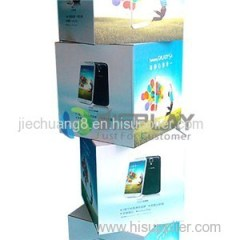 Promotional Cardboard Pallet Display Boxes for Mobile Phone Advertising