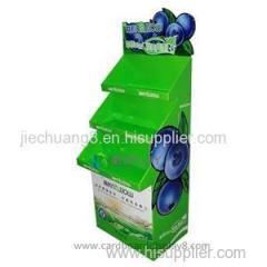 High Quality Custom Floor Paper Cardboard Display Case