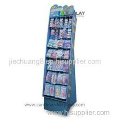 High Quality Portable Print Cardboard Accessory Display Racks
