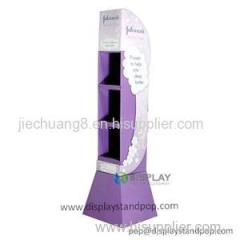 Supermarket Promotional Cardboard POP Display Stand For Cosmetics