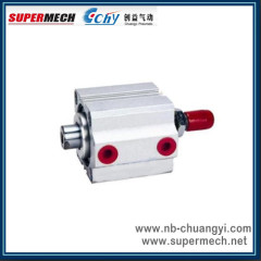 SDAD Double Rods Pneumatic Cylinder Compact Cylinder Airtac standard