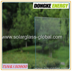 3.2mm Solar Glass Tempered Glass for United States