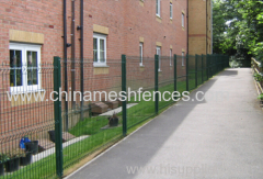 powder coated welded fence panel PVC coated welded fence