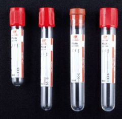 Vacuum blood collection tube machine for hospital red cap