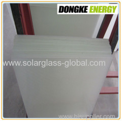 low iron tempered solar glass 3.2mm