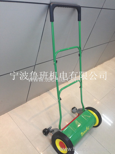 "16"" Height Adjustable Alu Stand Hand Push Reel Lawn Mower"