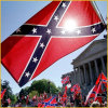 Promotion standrad national flag and confederate flag