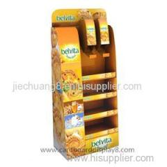Hot Sale Attractive Make-up Cardboard Advertising Display Stand