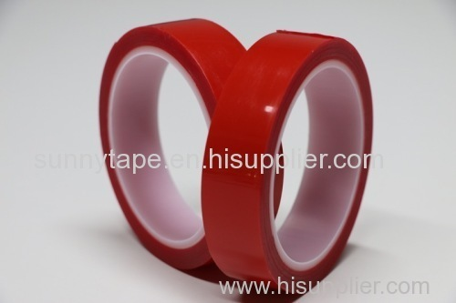 Double sided VHB acrylic foam heating tape