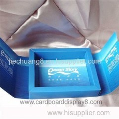 Custom Printed Cosmetic Box With Silver Stamping Logo In Shenzhen