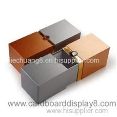 Custom Printed Counter Corrugated Cardboard Wine Packing Box