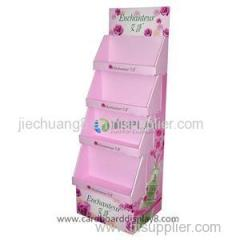New Style Hot Sale Cardboard Stands For Cosmetics