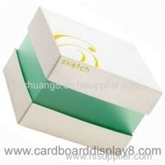 Hot Sale Luxury Handmade Custom Logo Printed Paper Jewelry Box