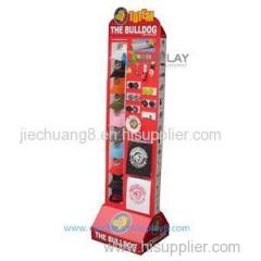2015 New Accessories Cardboard Floor Display Stand For Hats