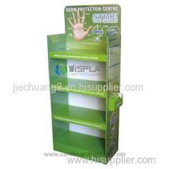 2014 Hottest Cardboard Medicine Display Shelf For Bulb For Medical Equipment
