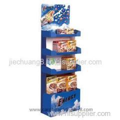 Tier Cardboard Stand Displays For Health Food