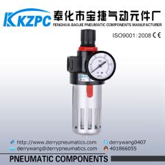 Air Preparation Units Pneumatic Filter Regulator Airtac Air source treatment