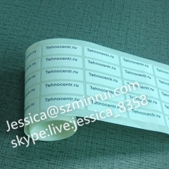 Custom Security Cannot Open Tamper Evident Seal Stickers Security Seal Adhesive Labels