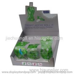 Retail Cardboard Counter Display Stand For Store