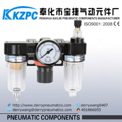Pneumatic Filter Regulator Lubricator F.R.L Combination