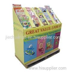High Quality With Factory Made Pallet Display Rack For Supermarket