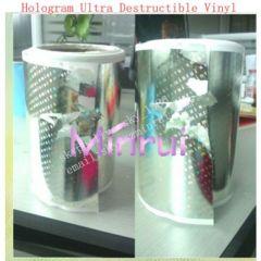 Ultra Hologram Destructible Vinyl