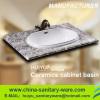 New sanitary ware ceramic prodcuts bathroom cabinet basin
