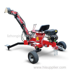 9hp mini tractor backhoe loader