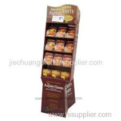 Free Standing Cardboard Point Of Purchase Displays for Candies and Chocolate Retail
