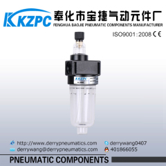 Airtac type air preparation equipments lubricator