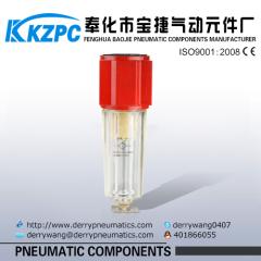 """Airtac Air source treatment 1/4"""" inch Aluminum Air Filter good quality"""