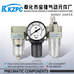 SMC Type pneumatic frl Air combination 1/4'' factory