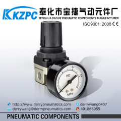 SMC Air source treatment aluminum material air pressure regulator