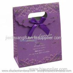 Custom Print Die-cut Handle Luxury Paper Gift Bags