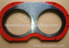 Pm Tungsten Carbide Wear Plate And Cutting Ring with ISO certificate