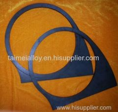 Stationary Concrete Pump Parts wear plate and cutting ring for Schwing