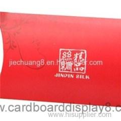 2015 Beautiful New Design Custom Paper Scarf Gift Box