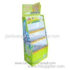 Flooring Promotional Cardboard Stationery Display Rack