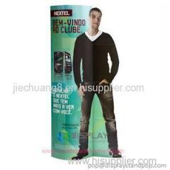 Bespoke Flooring Cardboard Totem for Advertising